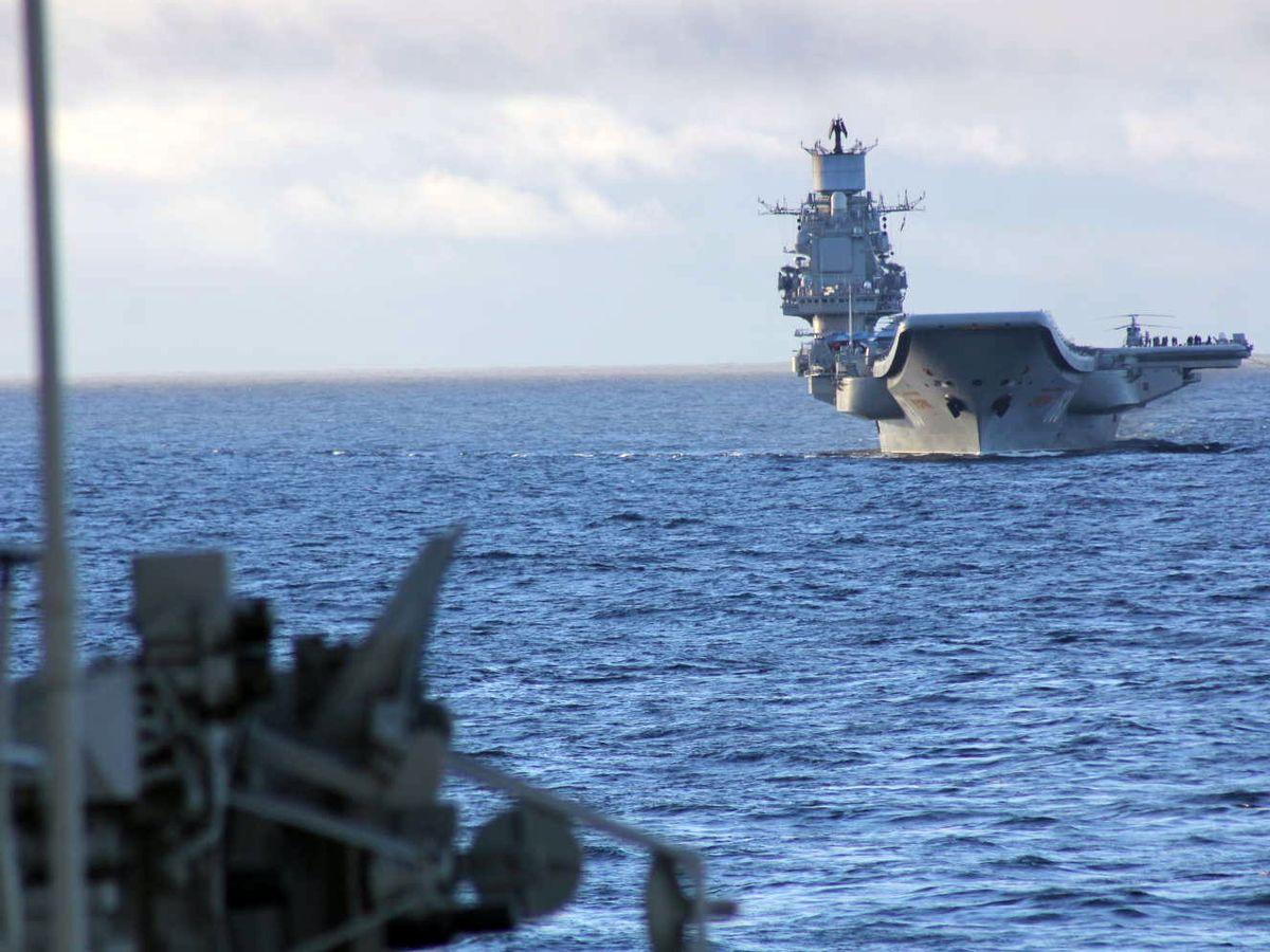"""""""Адмирал Кузнецов"""" двинулся в Средиземное море"""