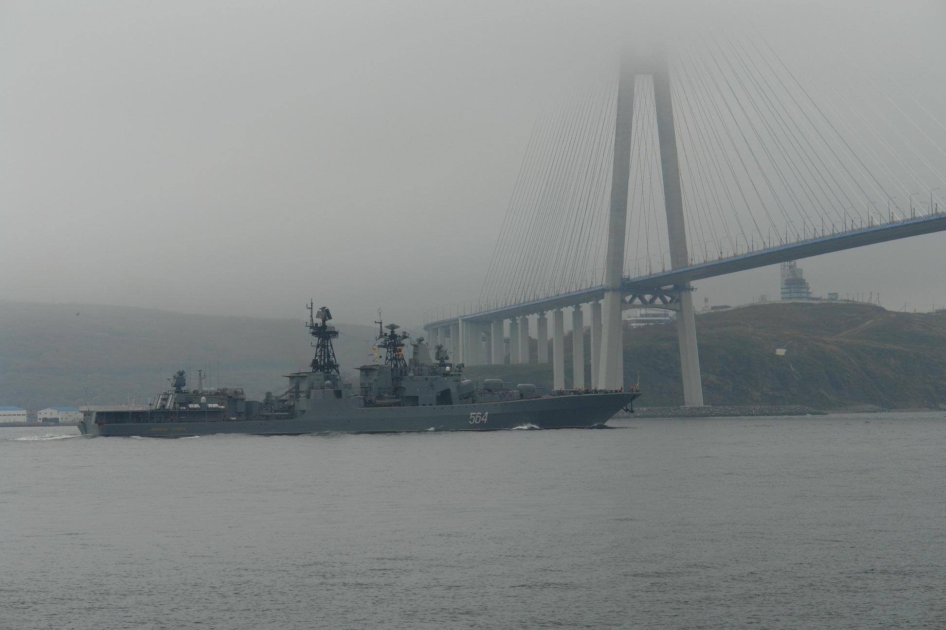 Развертывание ВМФ России продолжается