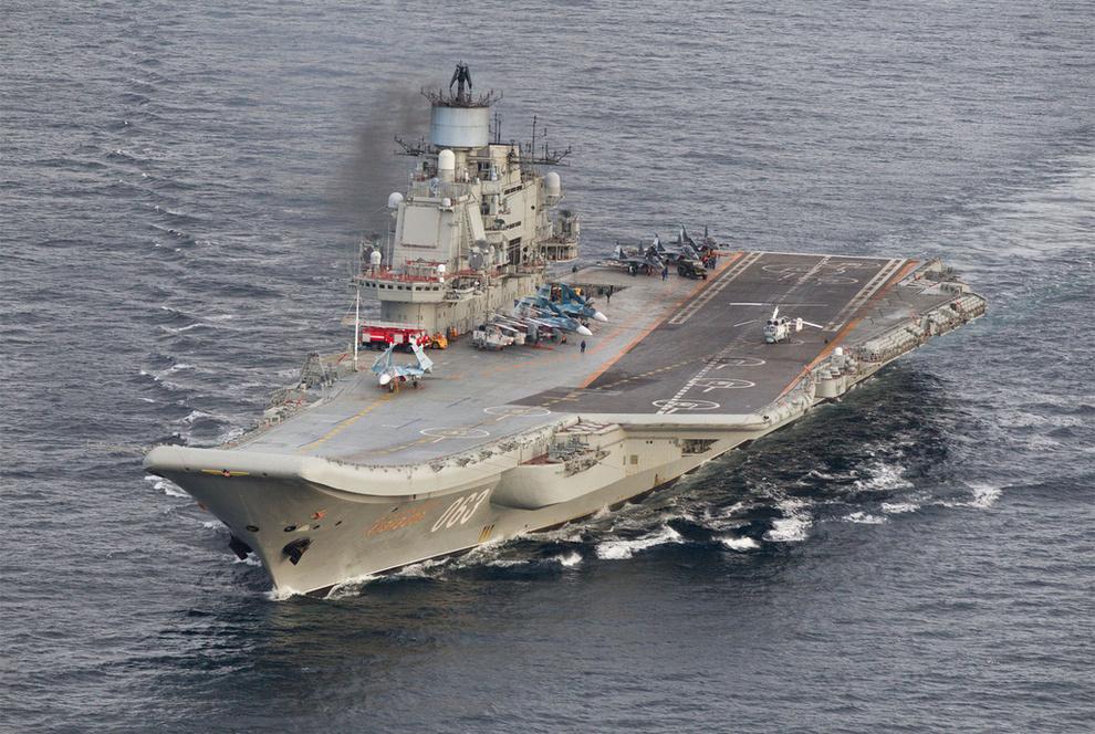 """Адмирал Кузнецов"" идет на юг"