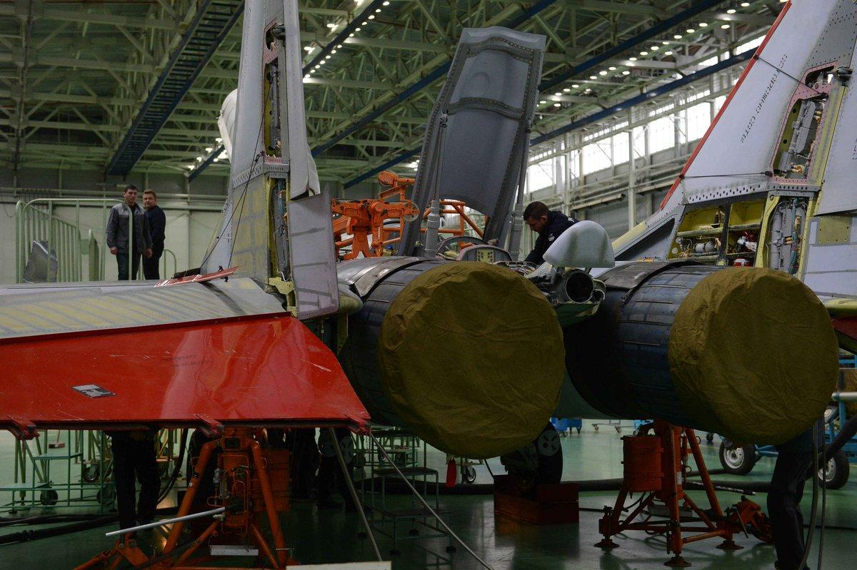 Постройка опытных образцов истребителя МиГ-35