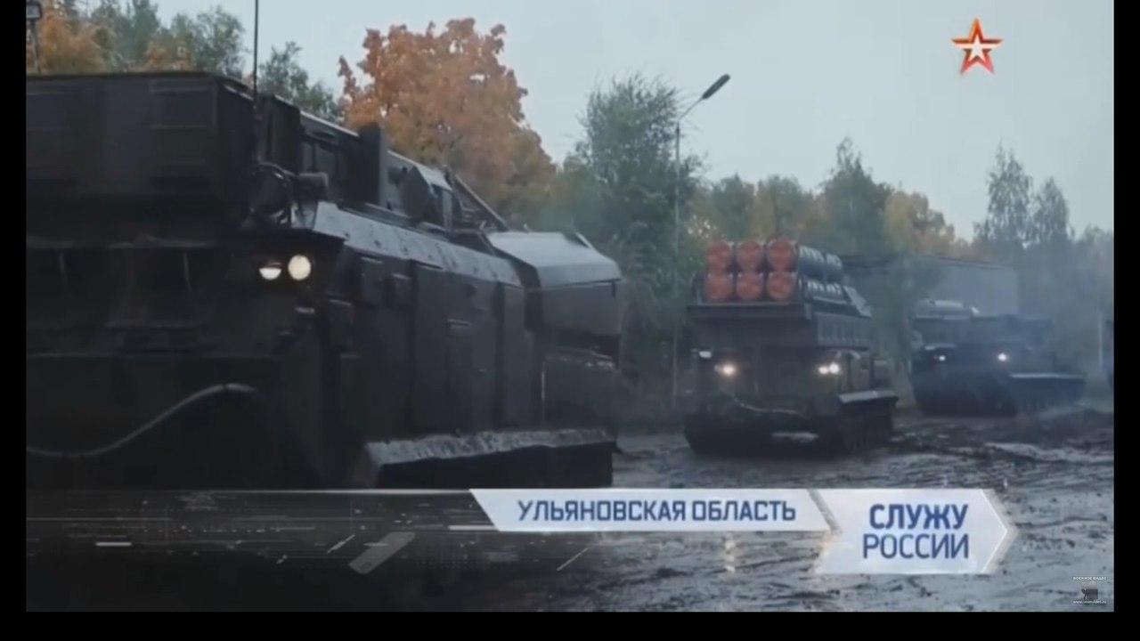 """Сухопутные войска России получили первый дивизион зенитного ракетного комплекса """"Бук-М3"""""""