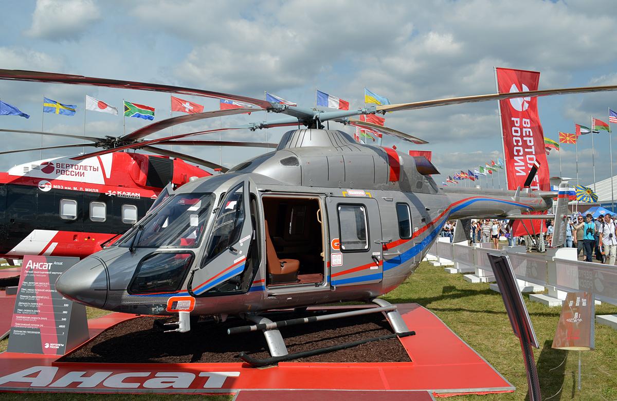 """Два вертолета """"Ансат"""" проданы в Китай"""