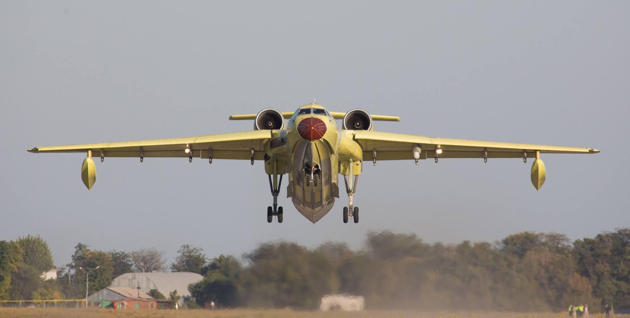Заключено соглашение о поставке в Китай двух самолетов-амфибий Бе-200