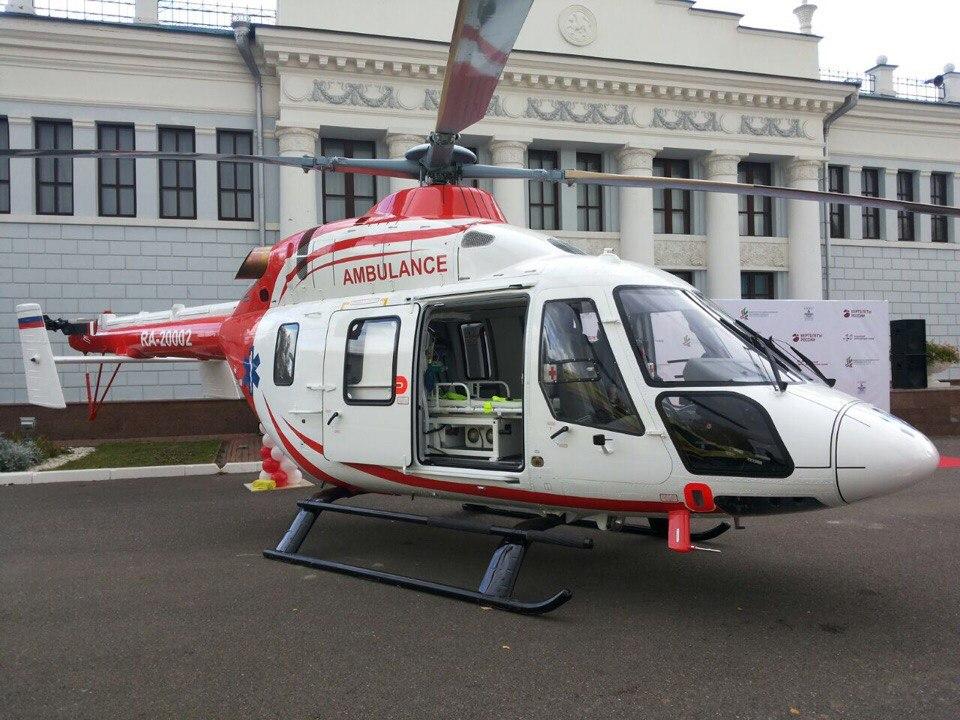 """Еще один заказ на вертолет """"Ансат"""" из Китая"""