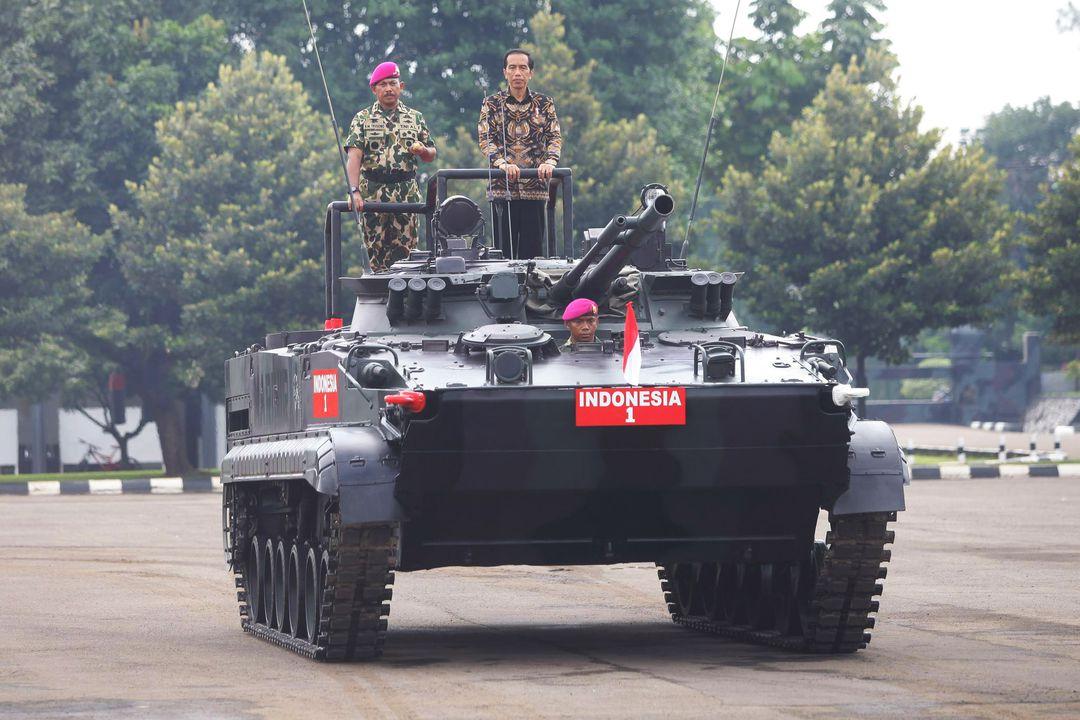 Парадная БМП-3Ф