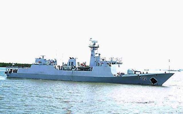 Нигерия получила второй патрульный корабль китайской постройки