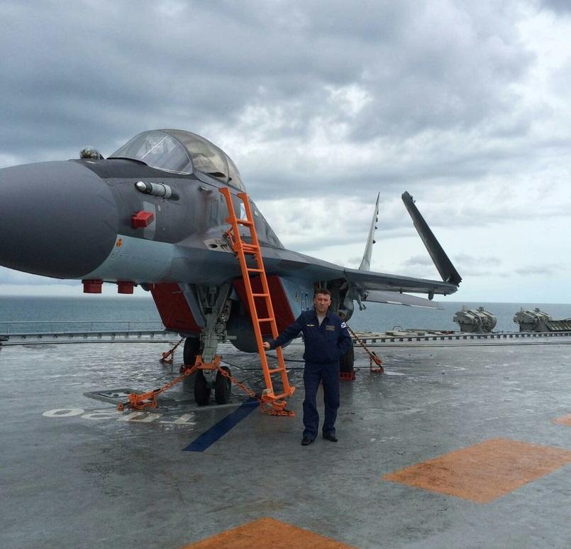 "Потеря МиГ-29КР на ""Адмирале Кузнецове"""