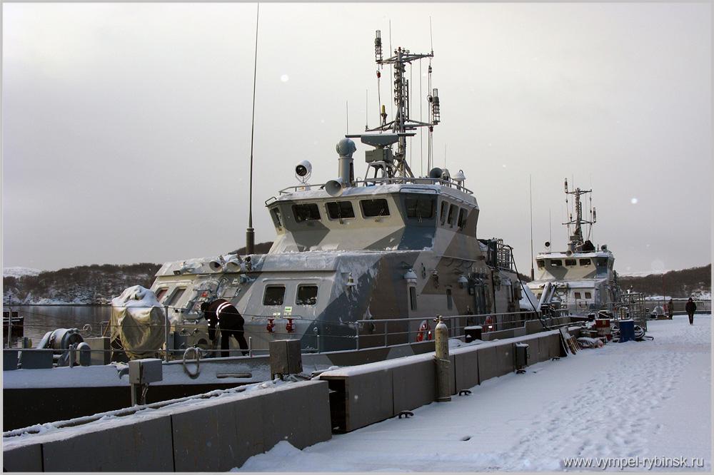 Два катера проекта 21980 переданы Северному флоту
