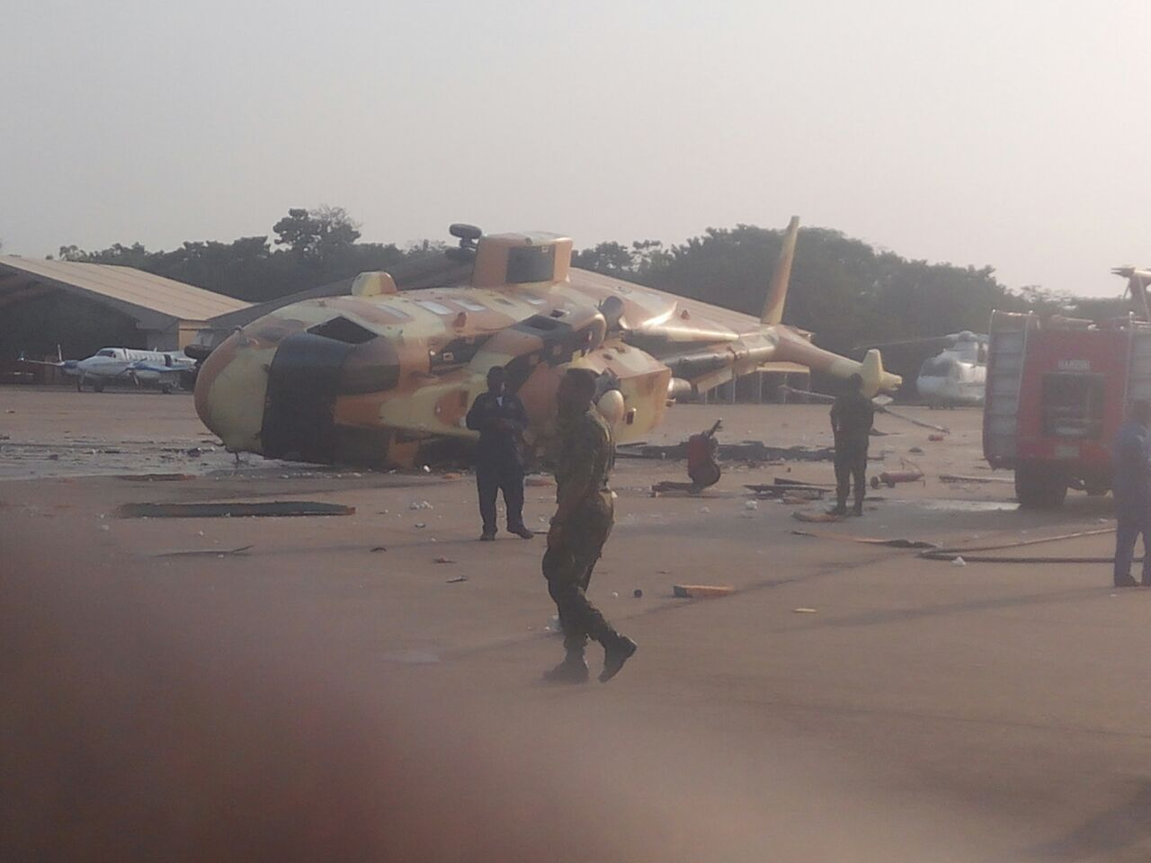 Крушение нигерийского вертолета AW101