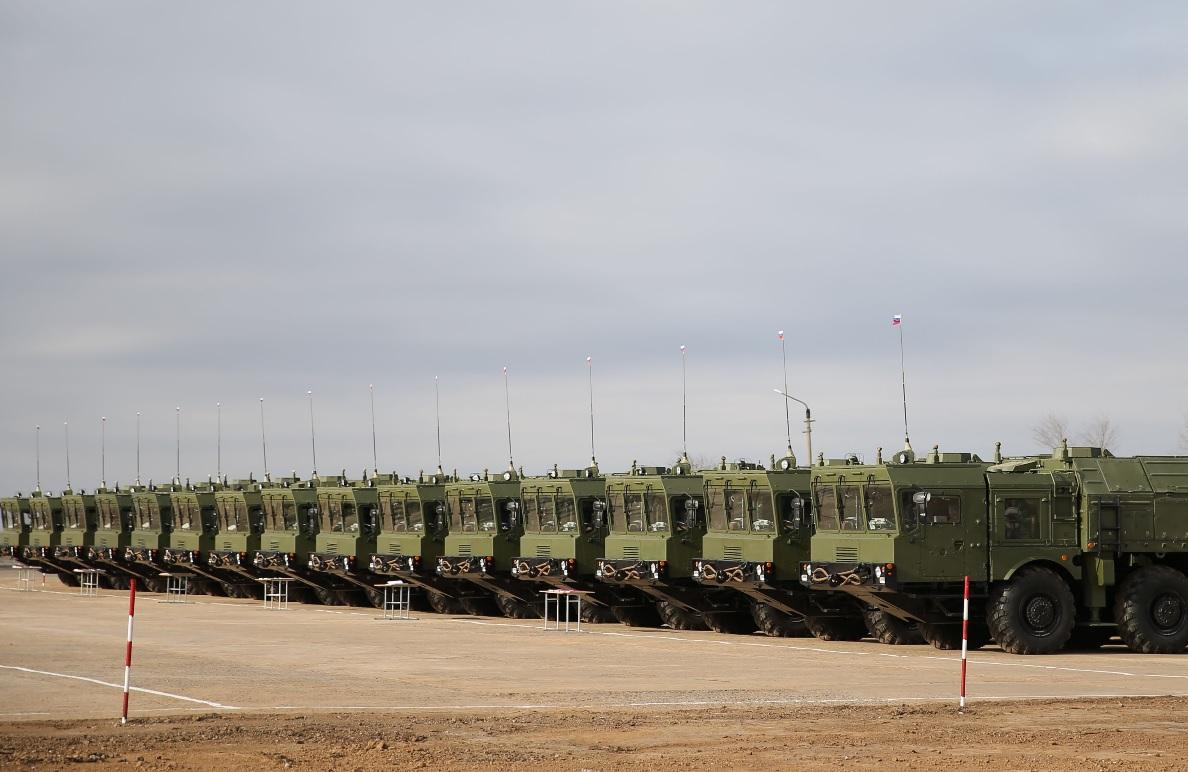 """Девятый бригадный комплект ракетных комплексов """"Искандер-М"""""""