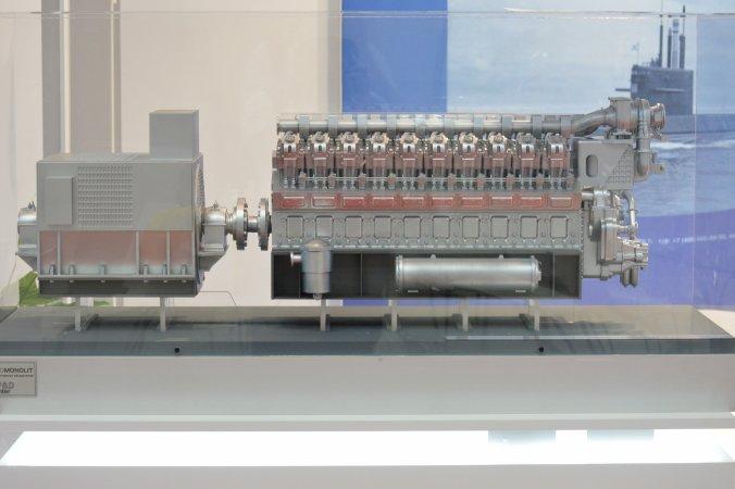 Конкурс на создание образца судового среднеоборотного дизельного двигателя