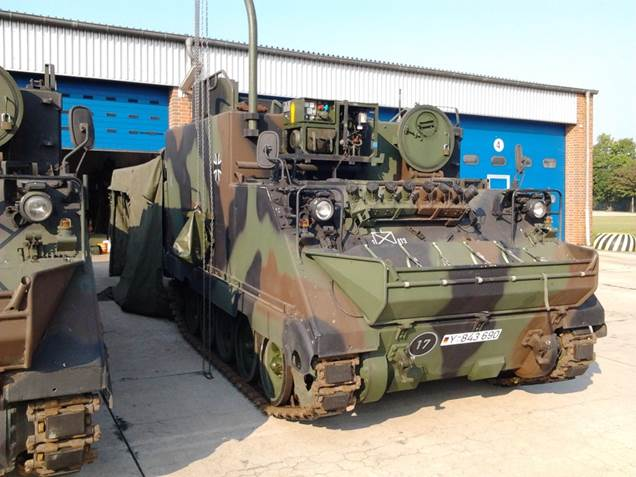 Литва покупает 168 командно-штабных машин М577 из наличия Бундесвера