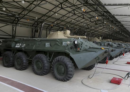 В Крыму сформировано управление 32-го армейского корпуса