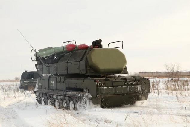 Перемещение зенитных ракетных бригад ПВО Сухопутных Войск