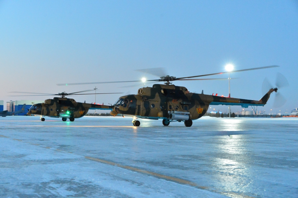 Казахстан получил еще два вертолета Ми-171Ш