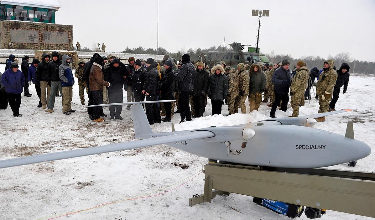 Польский беспилотный летательный аппарат Łoś на Украине