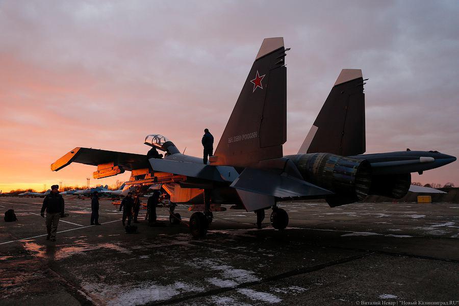 Первый балтийский Су-30СМ добрался до Черняховска