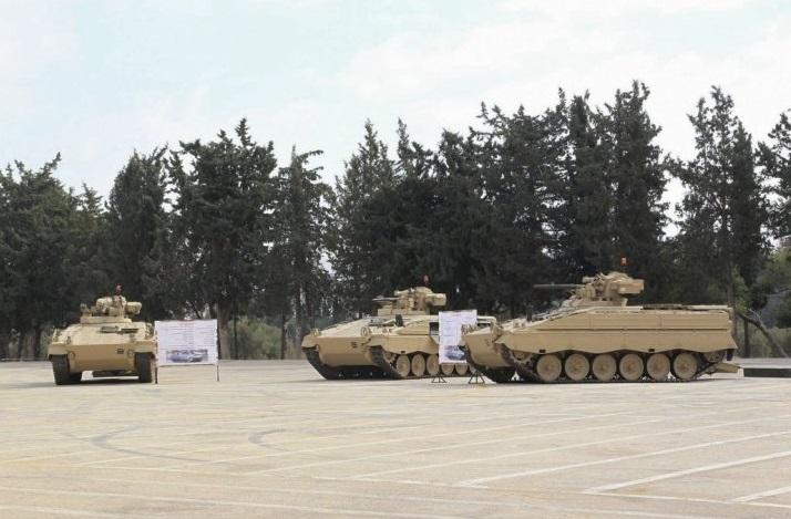 Германия передает боевые машины пехоты Marder Иордании