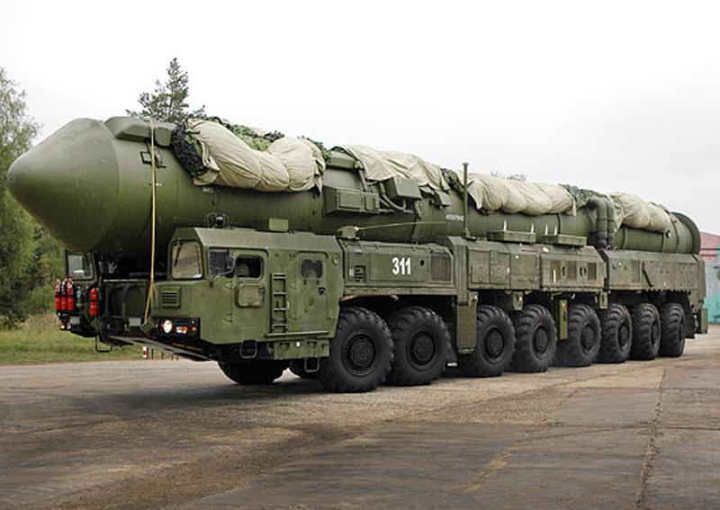 """В 2016 году в РВСН поставлены на боевое дежурство 23 пусковые установки ракетного комплекса """"Ярс"""""""