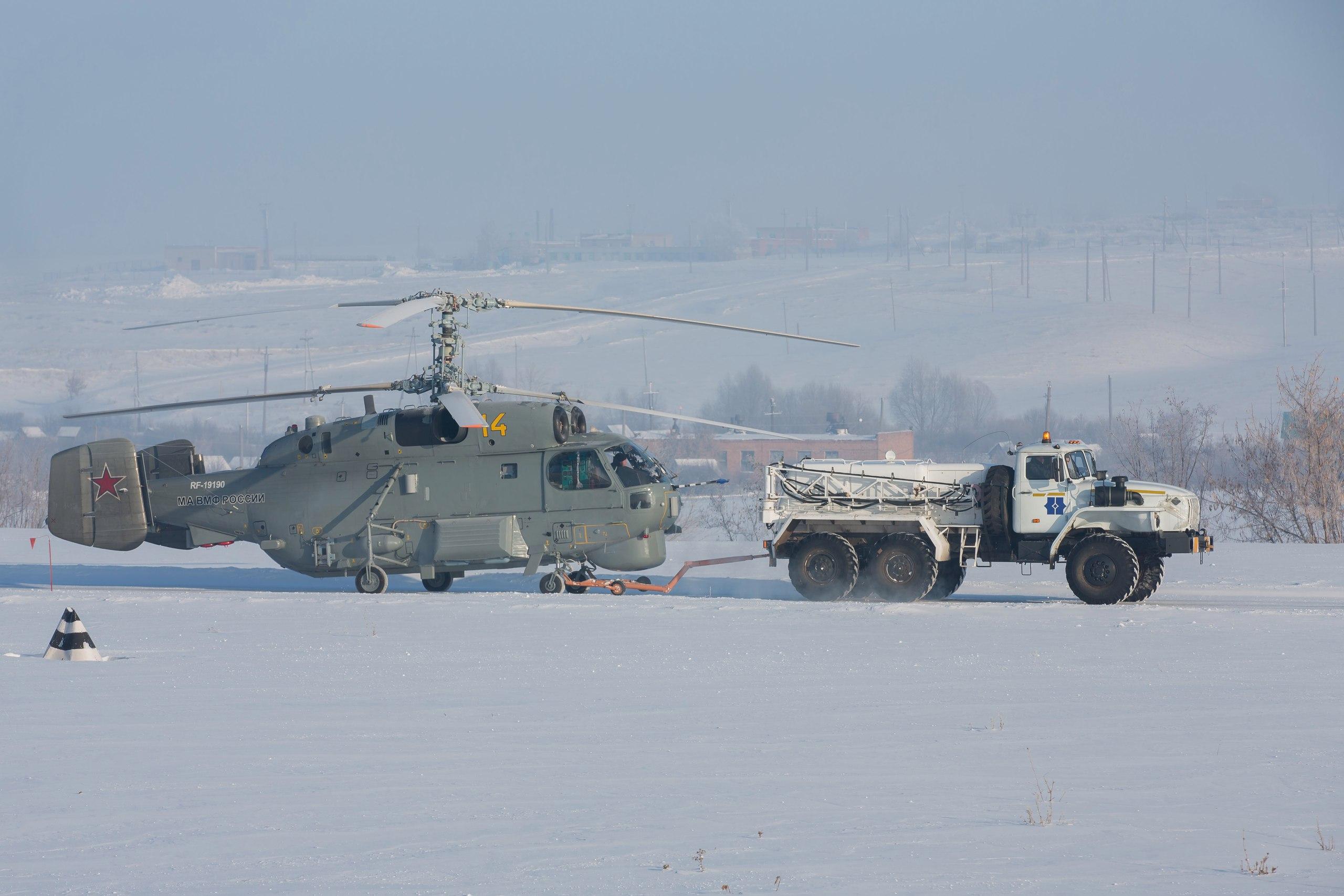 Первый серийно модернизированный противолодочный вертолет Ка-27М