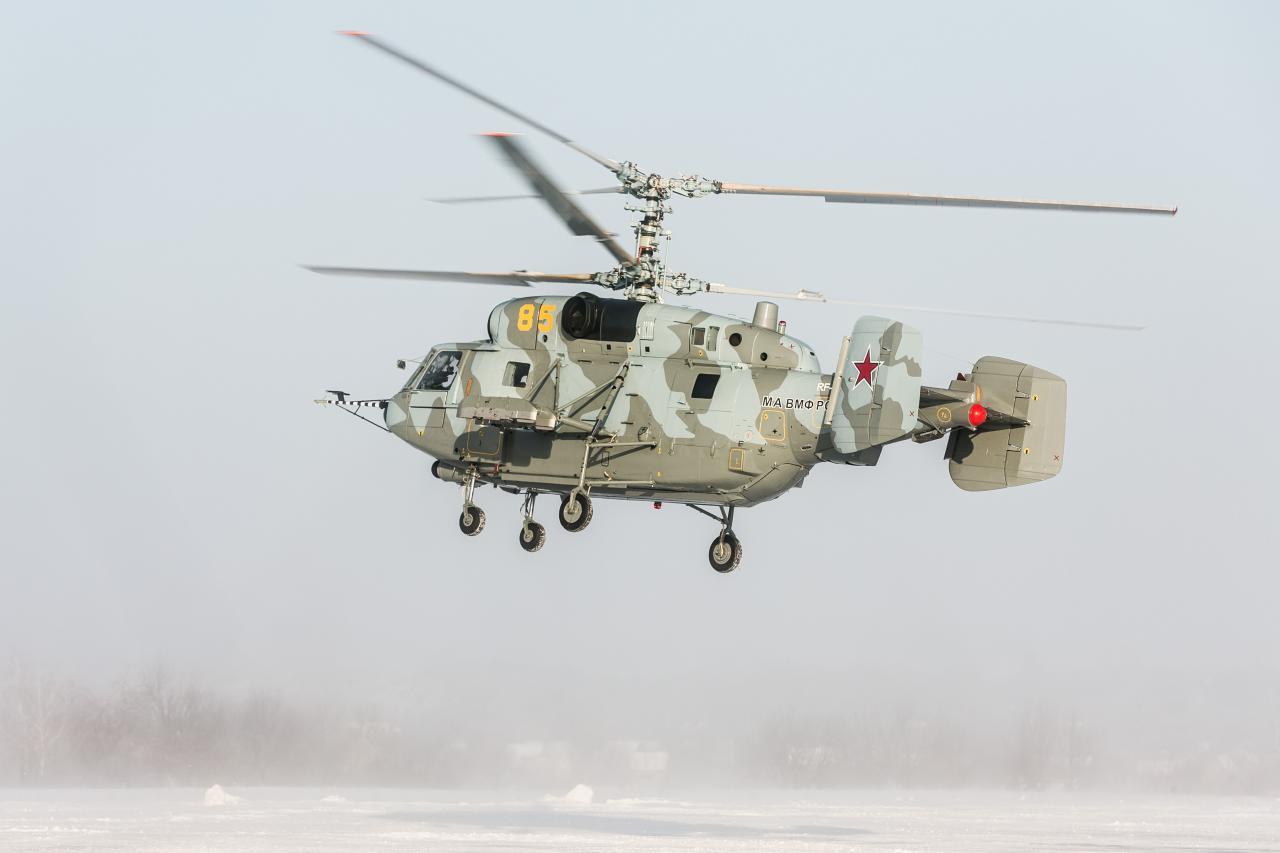 ВМФ России переданы отремонтированные вертолеты Ка-29
