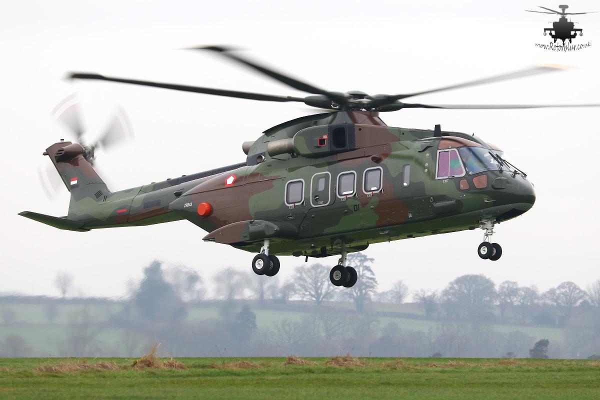 Первый вертолет AW101 для Индонезии