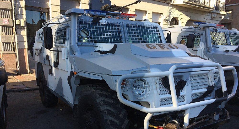 """Уругвай получил три новых российских бронеавтомобиля """"Тигр"""""""