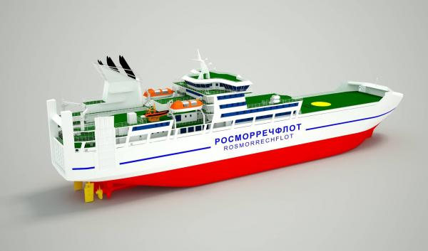 Амурский судостроительный завод получил контракты на постройку двух паромов для Сахалина