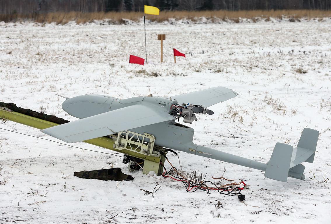 В 2016 году в Вооруженные Силы России поставлено 105 беспилотных авиационных комплексов