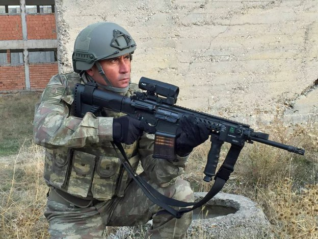 The Turkish army began to receive new automatic rifles MRT-76