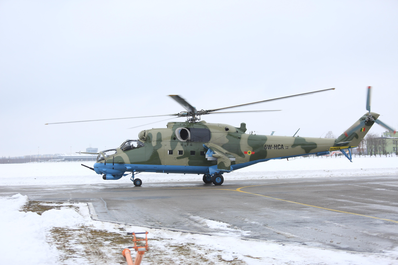 Вертолет Ми-24В для ВВС Сенегала в Польше