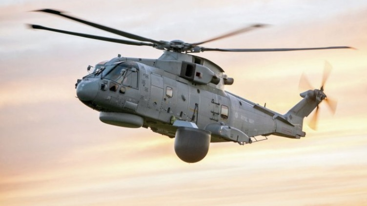 Для британской морской авиации заказаны десять вертолетных систем радиолокационного дозора Crowsnest