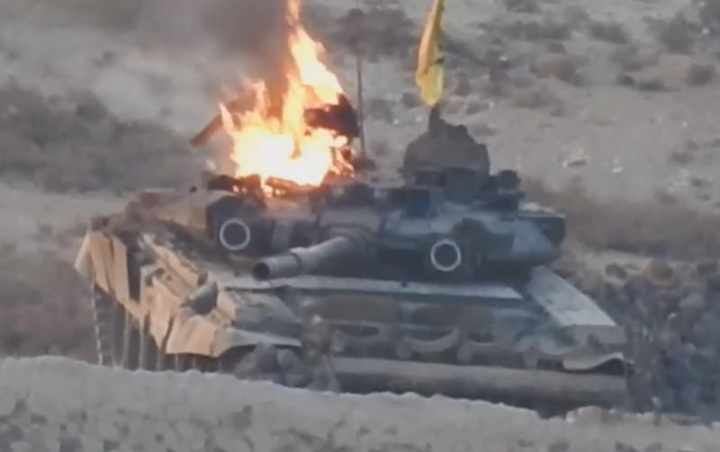 """""""Исламское Государство"""" заявляет об уничтожении танка Т-90 в районе Алеппо"""