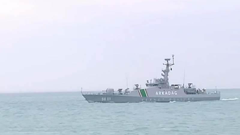 Туркменские катера получили зенитный ракетный комплекс SIMBAD-RC