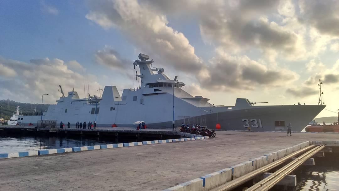 Введен в строй первый построенный в Индонезии фрегат типа SIGMA