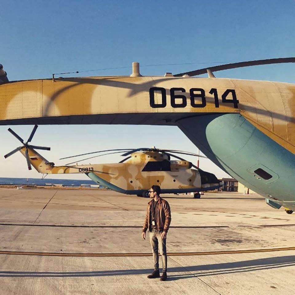 Алжир получил очередную пару вертолетов Ми-26Т2