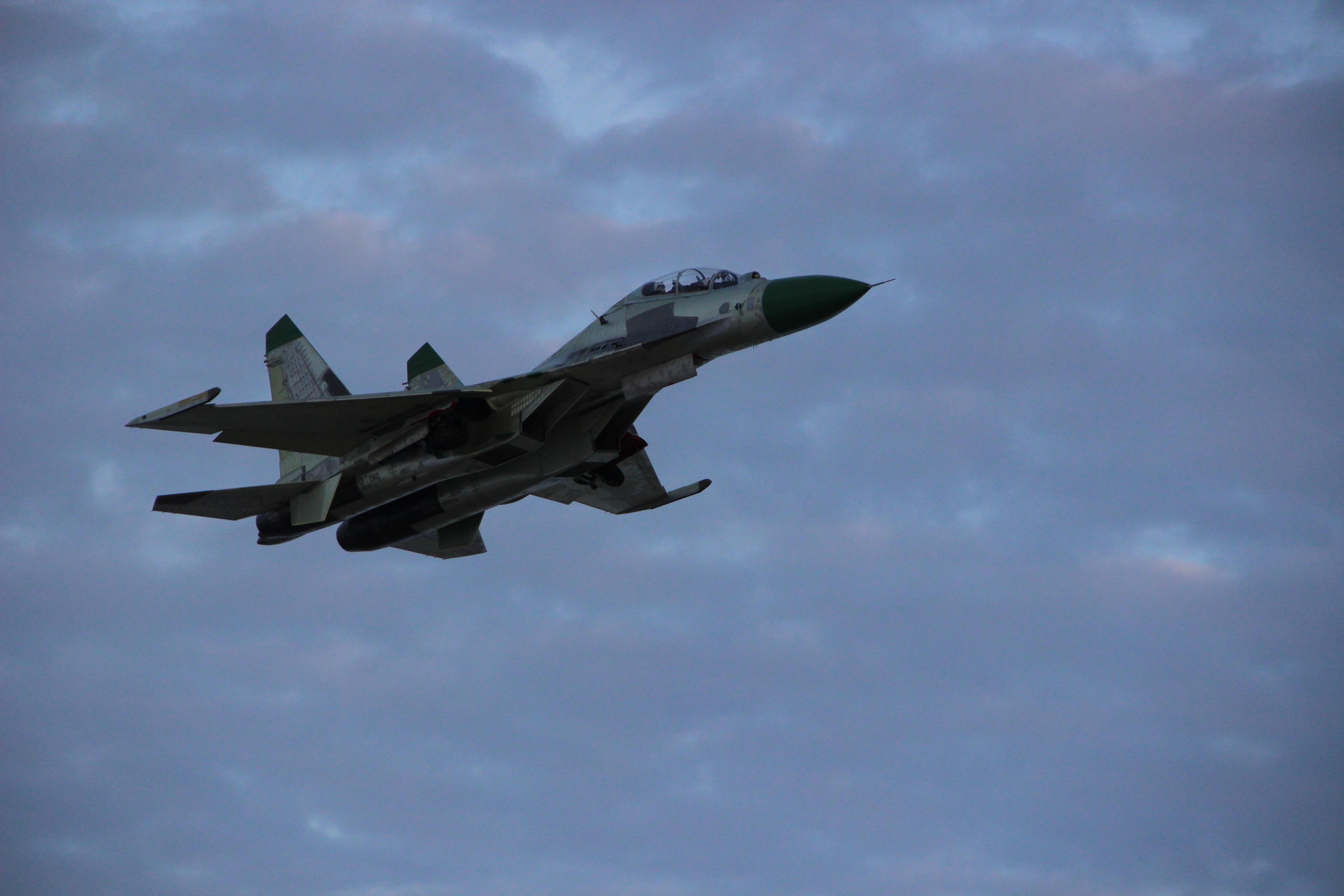 Первый Су-30К для Анголы в водухе