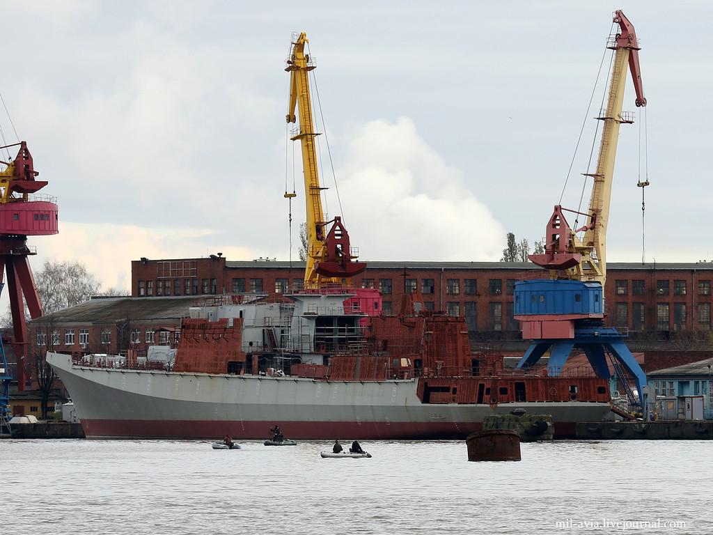 Индия препирается с Россией по вопросу стоимости постройки новых фрегатов проекта 11356