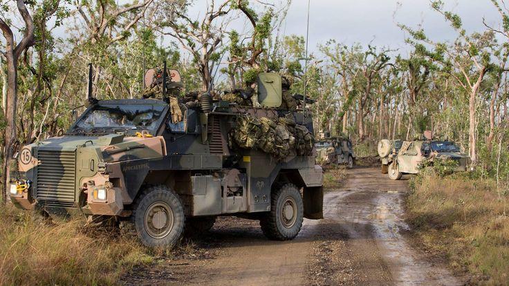 Фиджи покупает десять австралийских бронированных машин Bushmaster