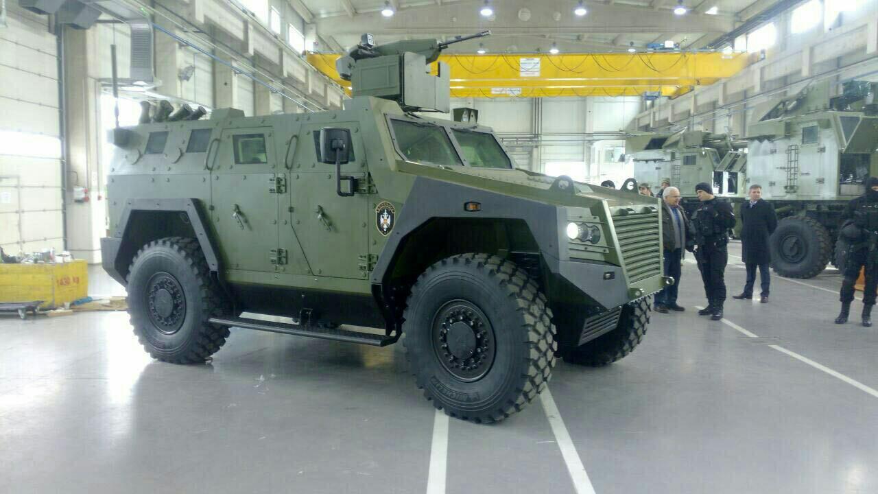 Новая сербская бронированная машина BOV M16 Miloš
