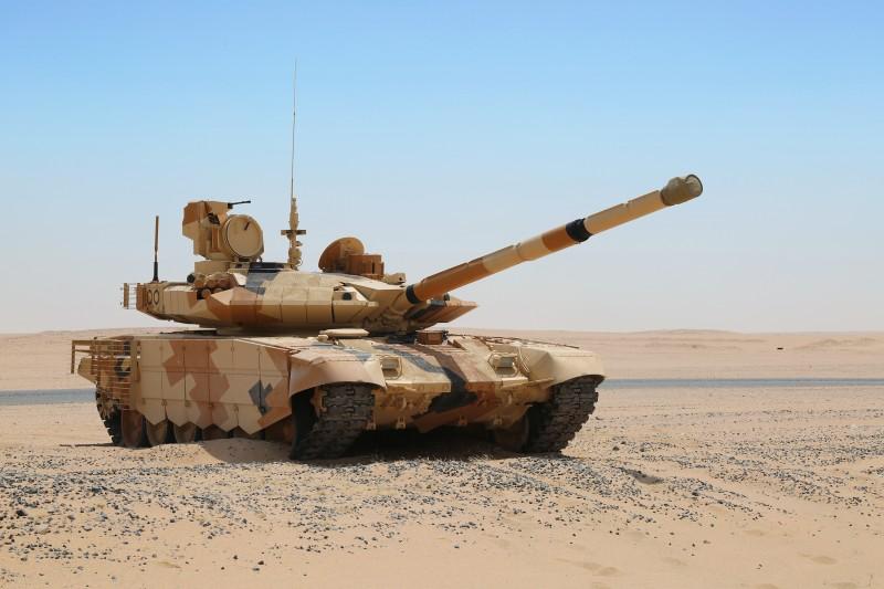 Подписан экспортный контракт на танки Т-90МС