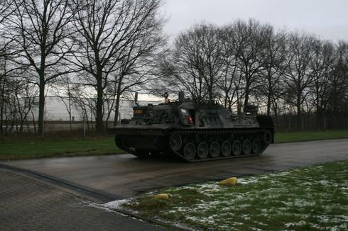 Финляндия закупает бронированные машины на базе танка Leopard 1 в Нидерландах