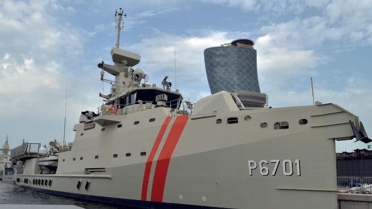 Новый эмиратский патрульный корабль Ar