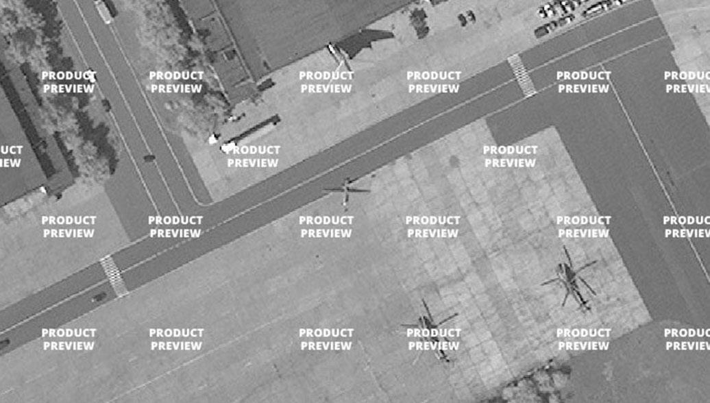 """Спутниковый снимок российского беспилотного летательного аппарата """"Орион"""""""