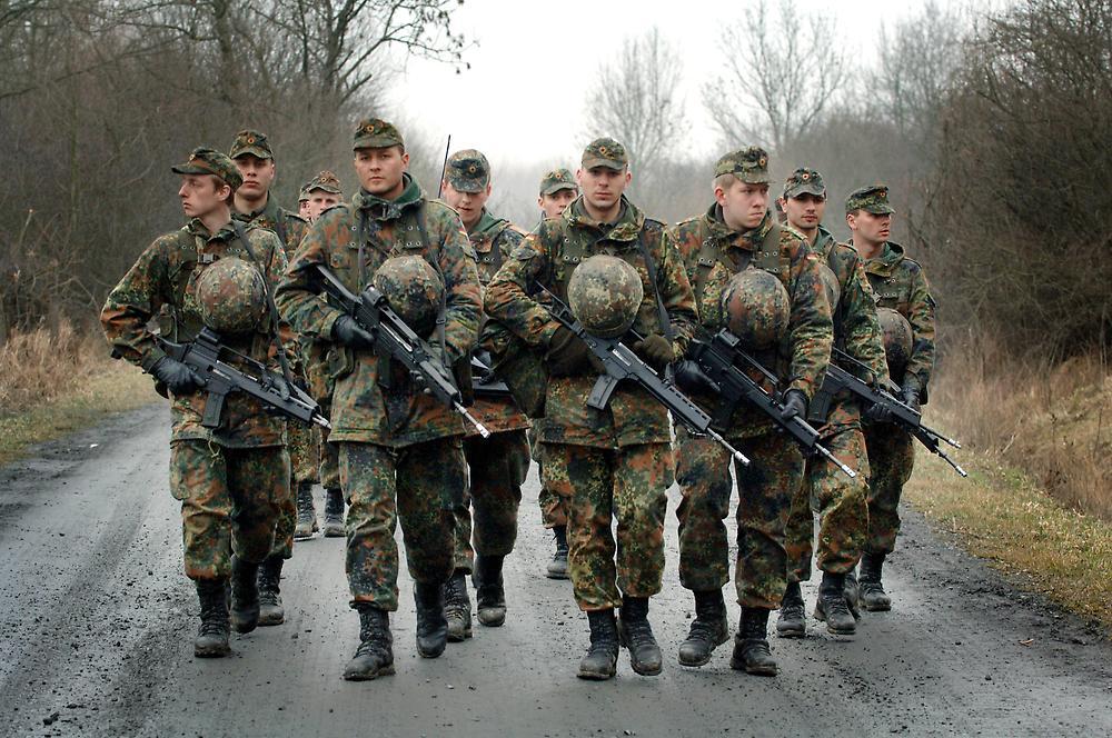 Военный бюджет ФРГ впервые после 1945 года превзошел французский и будет расти дальше