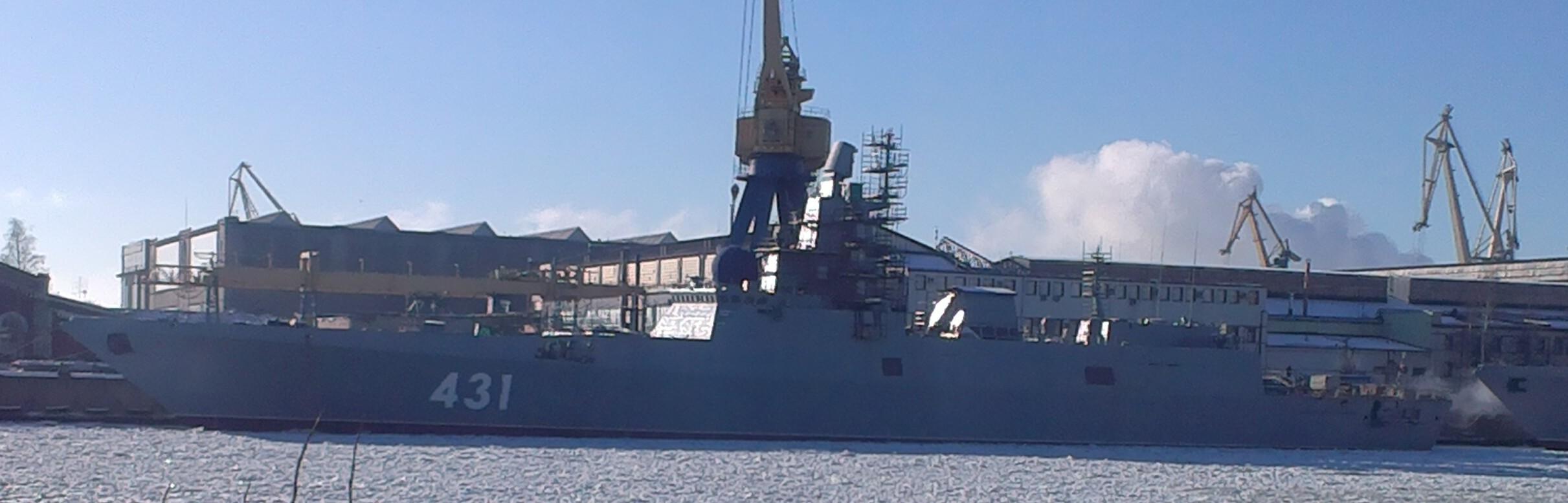 Министерство обороны планирует строительство крупнотоннажных вспомогательных судов