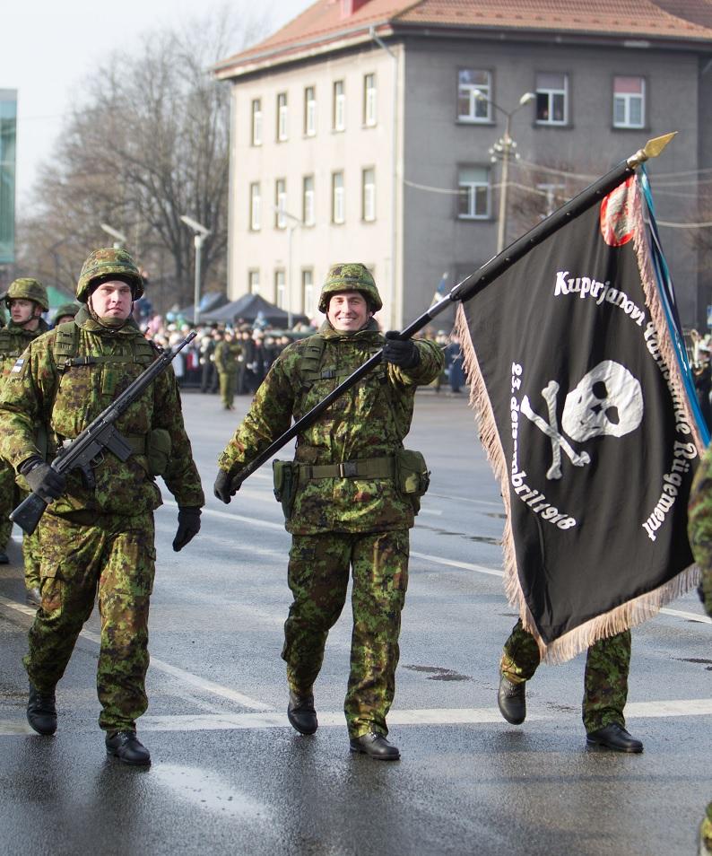 В Эстонии формируется 2-я пехотная бригада