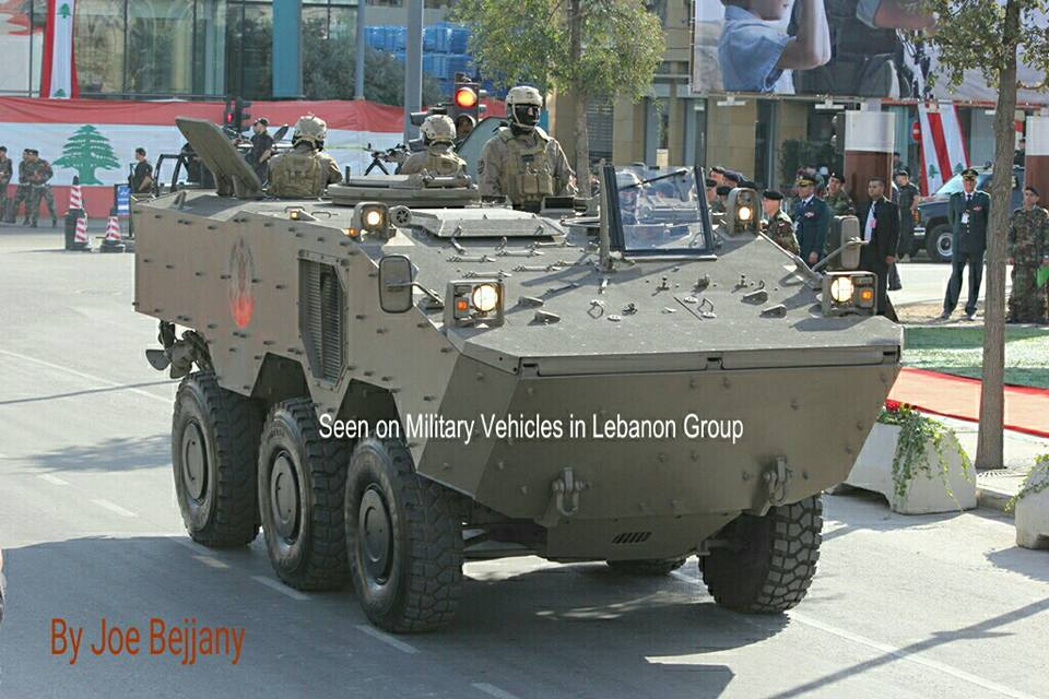 Ливан получил бразильские бронетранспортеры VBTP-MR Guarani