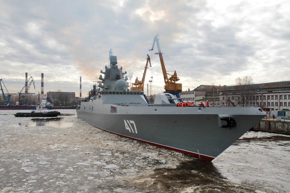 «Адмирал флота Советского Союза Горшков» вышел на заключительный этап государственных испытаний