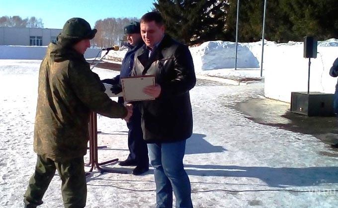 300 спецназовцев ГРУ вернулись в Новосибирск из Сирии